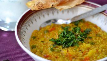 Easy and healthy Masala Dalia recipe