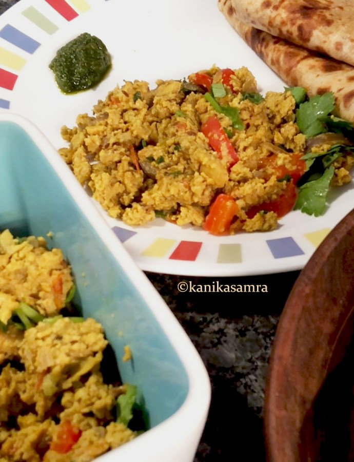 Anda Bhurji – Indian Scrambled Eggs