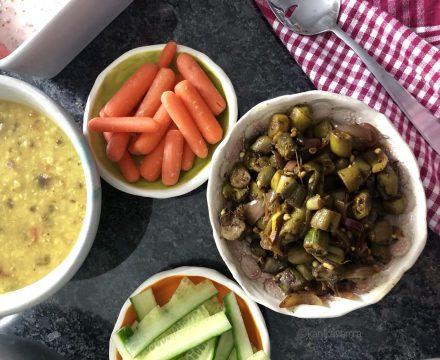 Bhindi ki sabzi –Indian Sauteed Okra