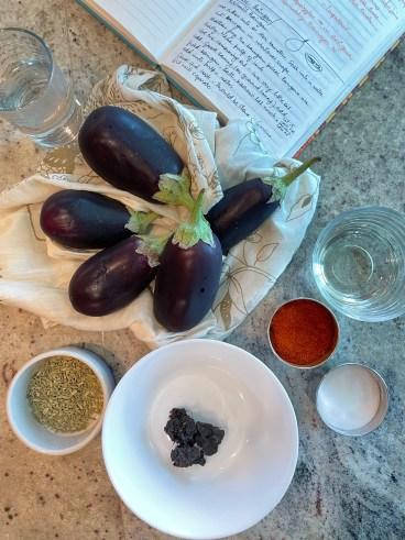 Ingredients for Kashmiri Khatte Baingan Recipe