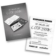 Parlour Cafe Cookbook invite
