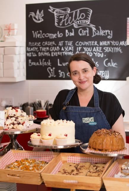 Picture of Jeni Iannetta of Bad Girl Bakery