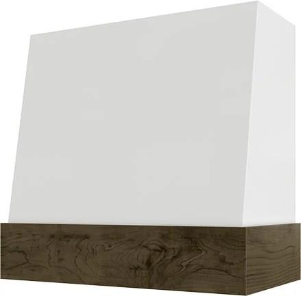 Wilmington Angled Wood Range Hood - Kitchen Envy Cabinets