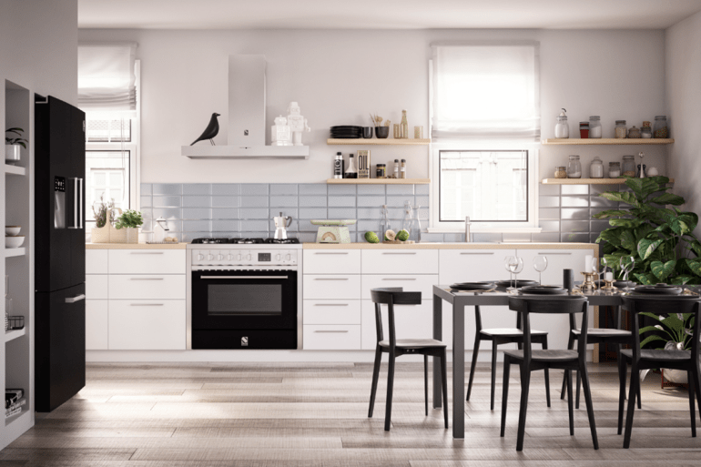 Range Cooker Steel Kitchens Review Oven