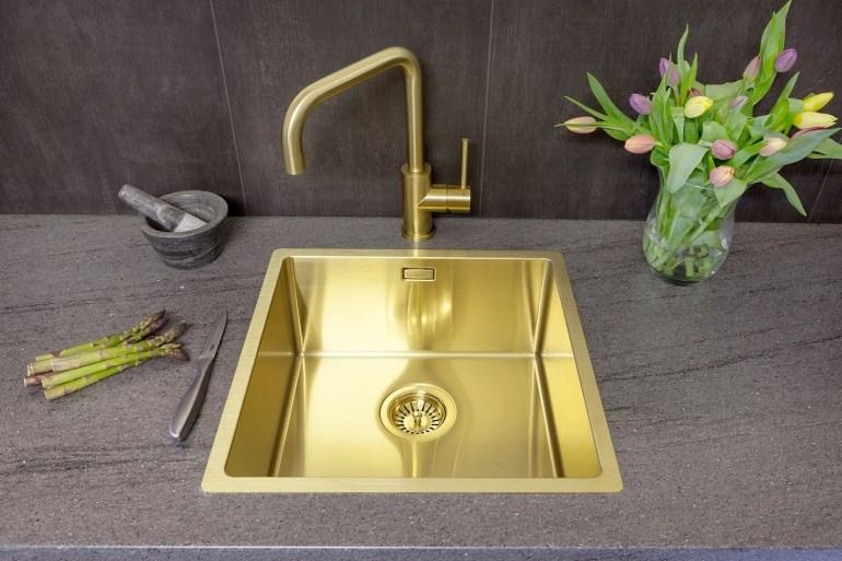 Reginox Kitchens Review Gold Miami taps