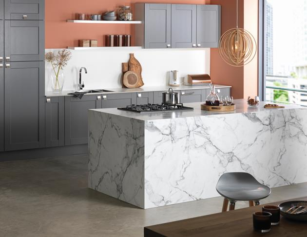 Storage UK kitchens Marble Formica Group Surfaces