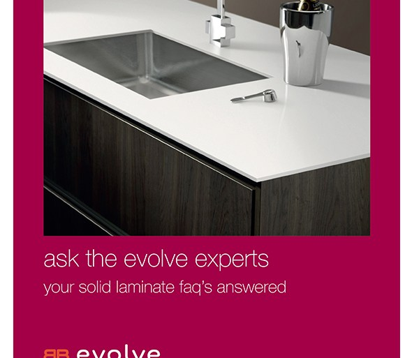 Bushboard Solid Core worksurfaces