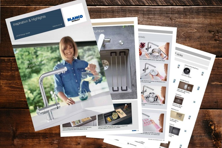 Higlights brochure Blanco Taps
