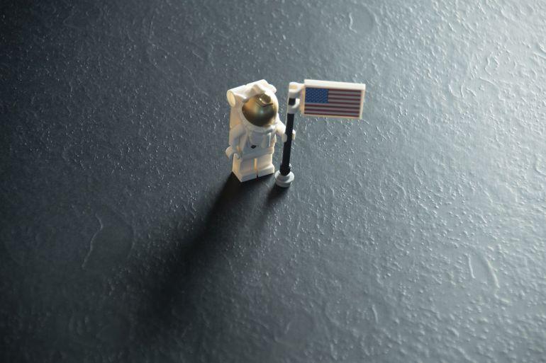 Matthew Day Jackson Laminate Formica Moon Landing