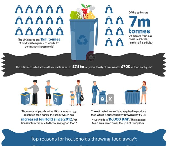 infographic food waste InSinkErator®
