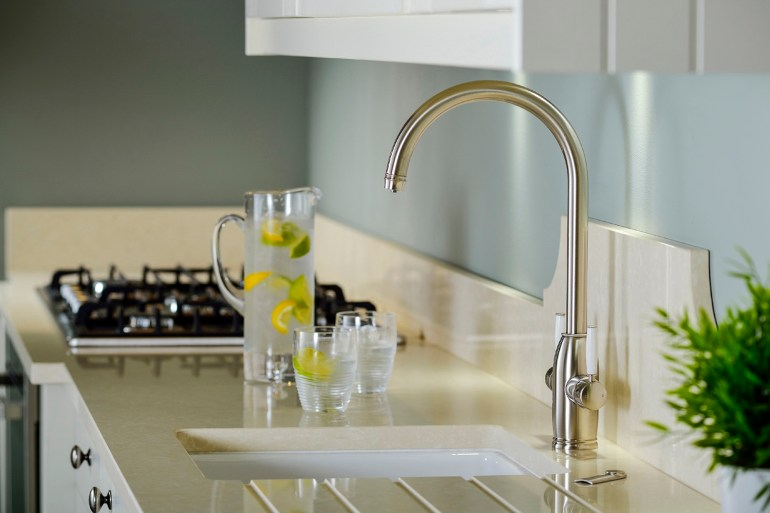 WRAS apporvbal Abode Hot water taps