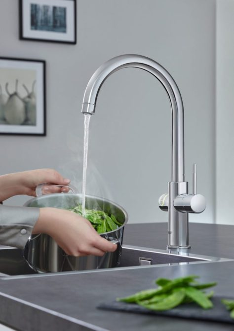 cashback top tops hot water tap specification