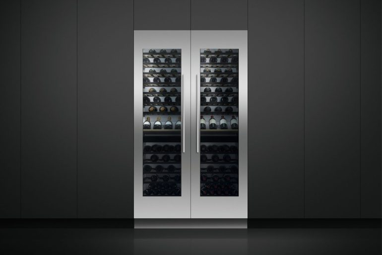 Column wine cabinet Fisher & Paykel wine cellar