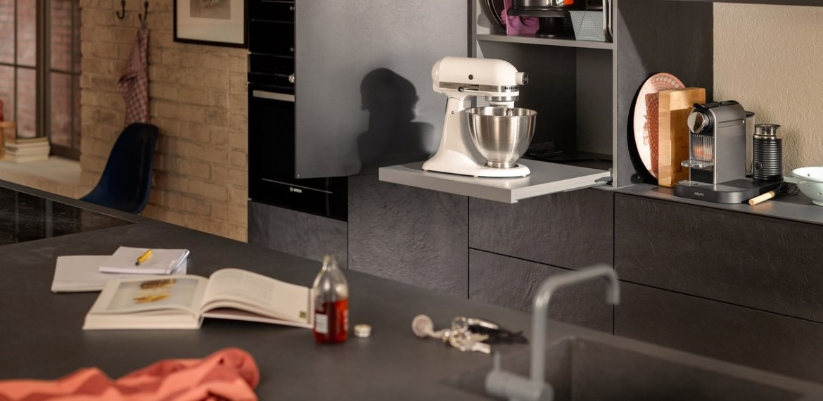 Movento and Tandem pull out shelf