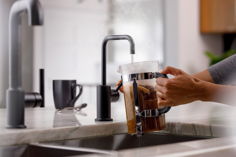 InSinkErator previewed new range of taps