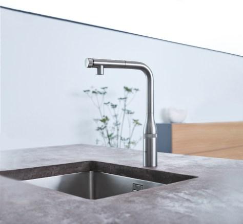 GROHE-Essence-Smart Kitchen Design