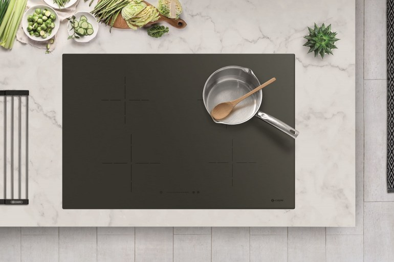 Caple Gunmetal hob
