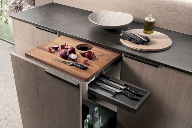 Atim from Scavolini helps create a versatile kitchen