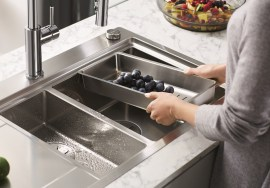 Blanco Divon stainless steel sink