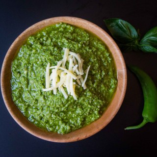 Chilli and Walnut Pesto