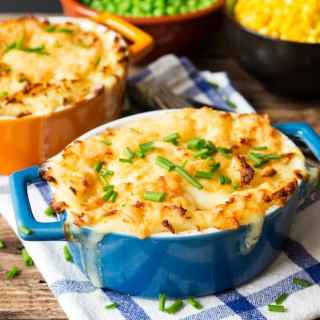 Fish Pie with Cheesy Mash and an introduction to Mindful Eating