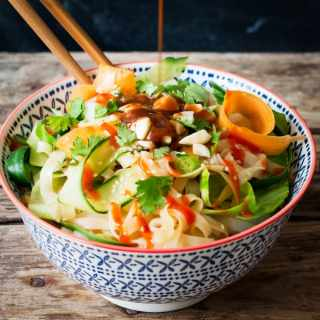 Easy Nutty Noodle Salad