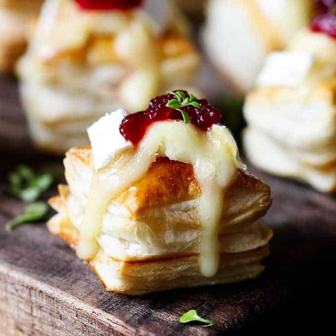 Cranberry & Brie Bites Updated with Video!