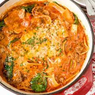 One-Pan Lasagne Soup