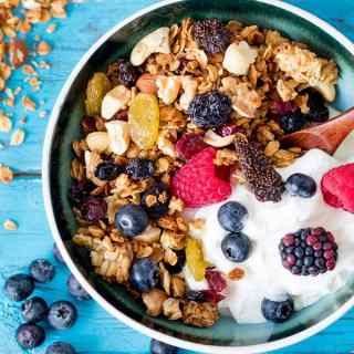 Nuts and Berries Granola