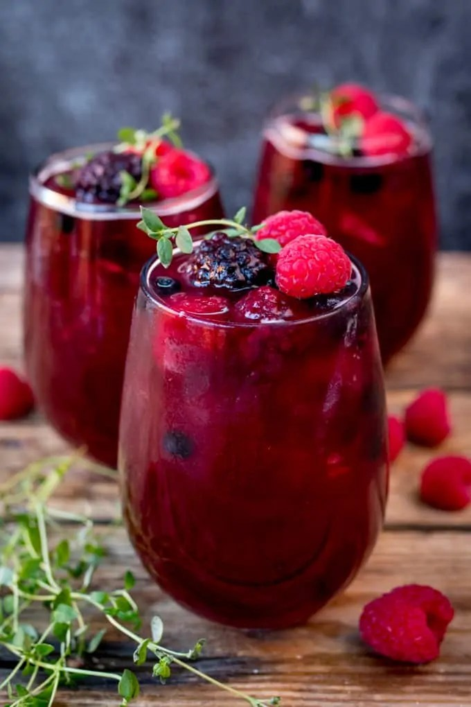 Rum Berry Cocktail