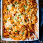 Cheesy Pasta Bake With Chicken And Bacon - a family favourite (and it makes great leftovers too!).