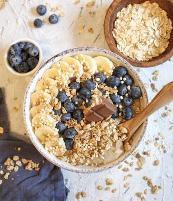 Cremiger Vanille-Porridge