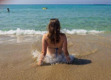 Am Strand von Phalasarna