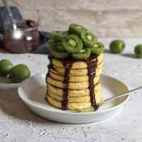 Chiapancakes mit Vanillegeschmack