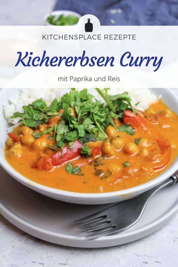 Kichererbsencurry mit Paprika