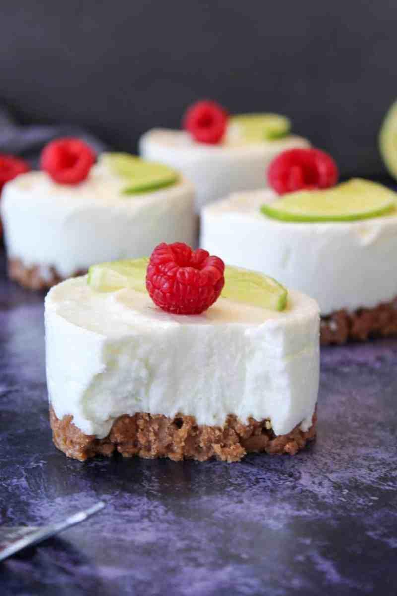 Limetten Cheesecake No Bake