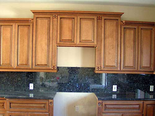 Coffee Glazed Maple Kitchen Cabinets And Bathroom Vanities