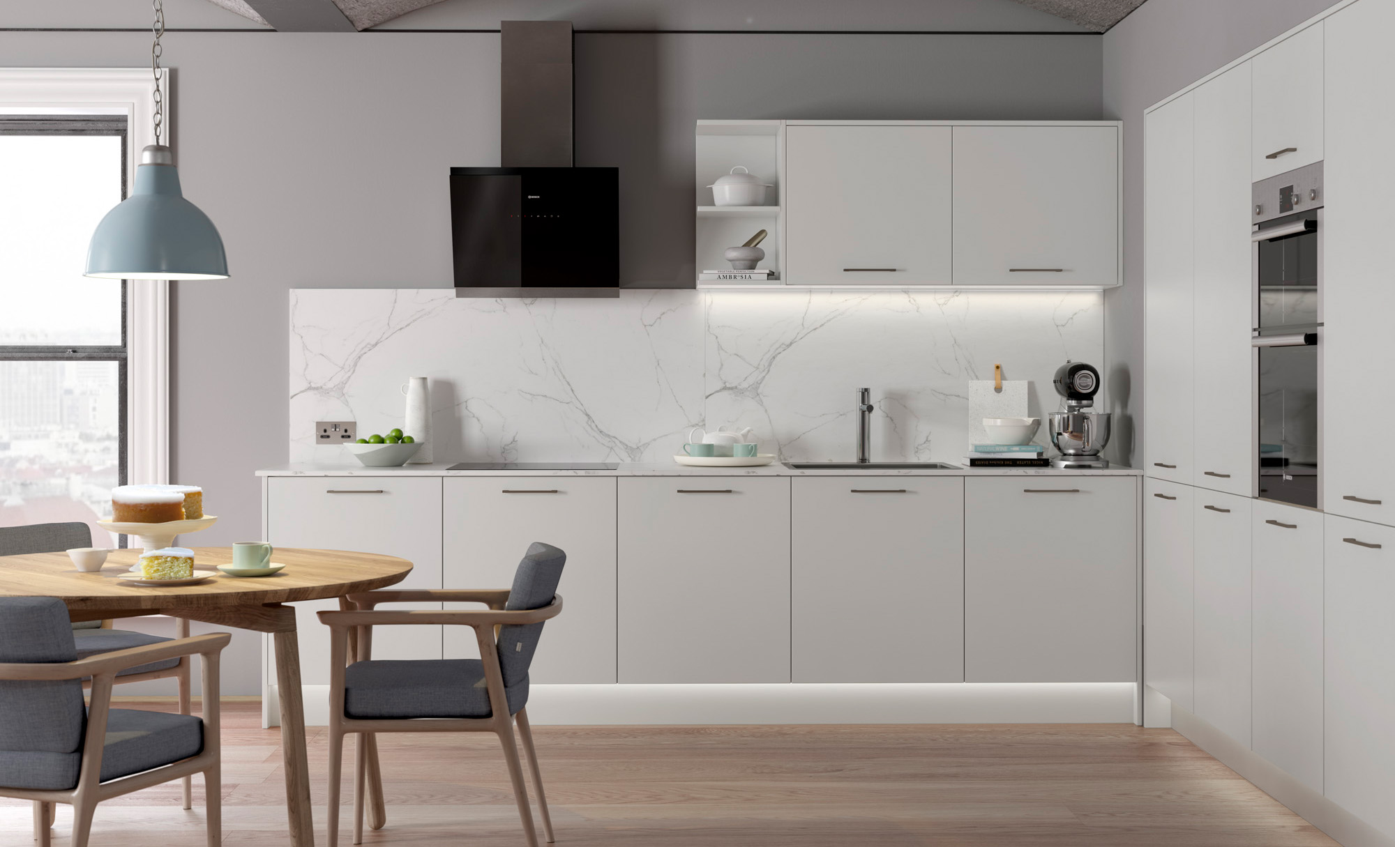 L Shaped Kitchen Units