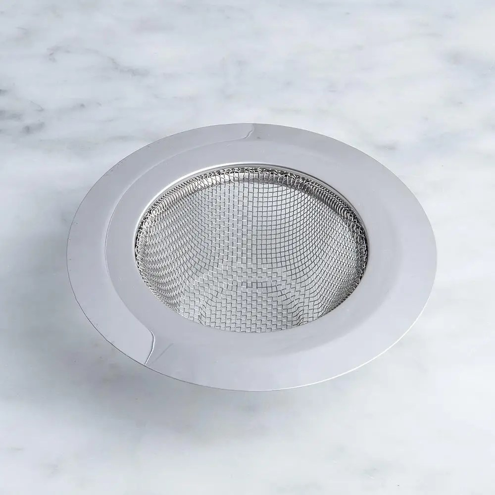 luciano anti clogging mesh sink strainer stainless steel