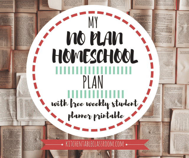 When we started to homeschool I was excited about teaching & learning with my kids. Spending evening and weekends on a homeschool plan was not so appealing!
