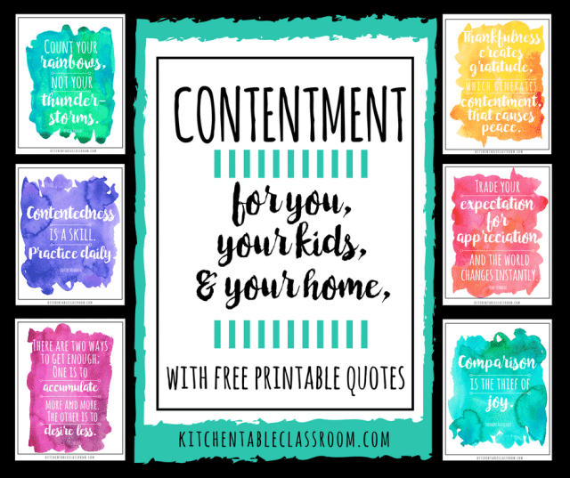 Contentment is defined as a state of happiness or satisfaction. That ought to be easy, right? Life truly is good. Being content is easier said than done.