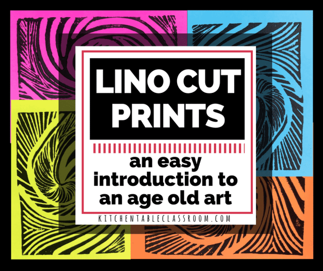 New surfaces make the age old art of lino cut printmaking so much more manageable and just as fun. Start easy, learn the process, and build your skills!
