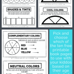 Color Theory For Kids A Free Printable Book The Kitchen Table Classroom