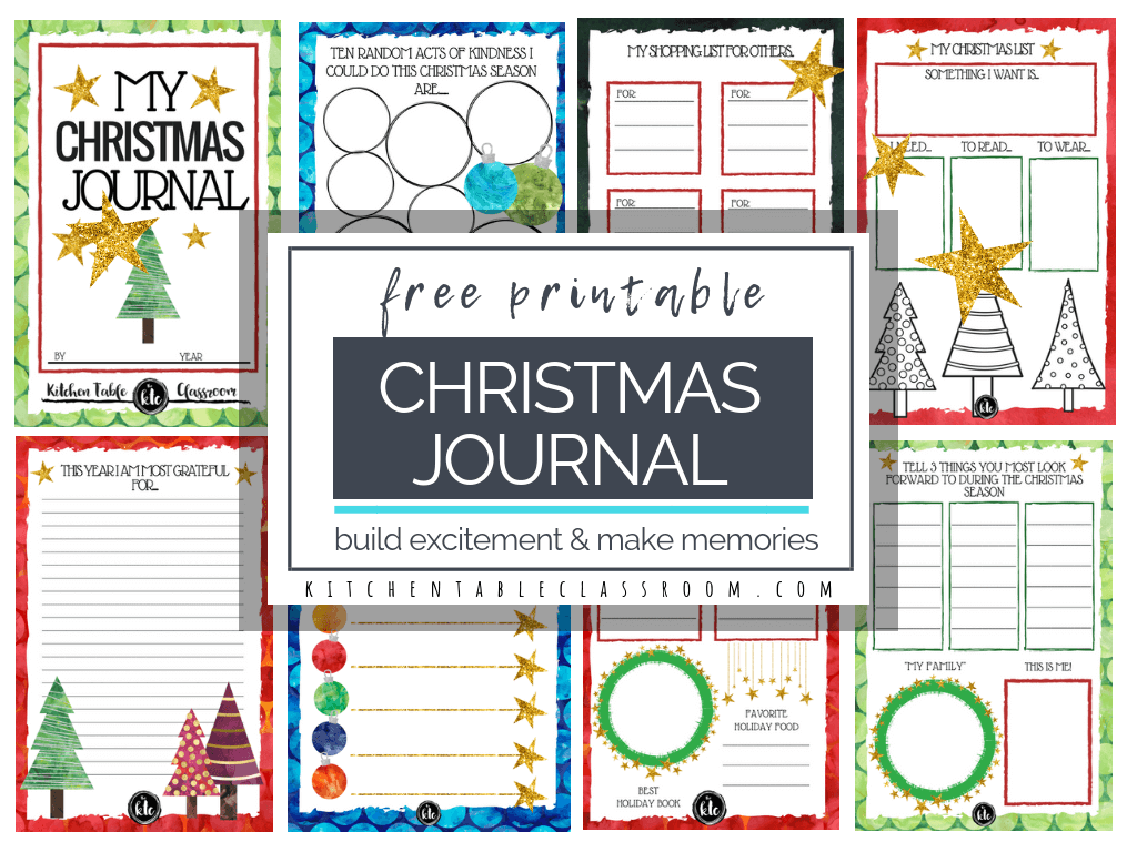 The Christmas Book Free Christmas Printables
