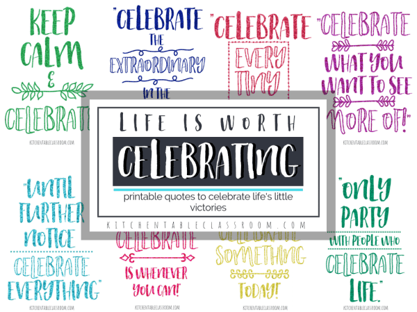 Quotes about Celebration- How to Celebrate Every Day - The ...