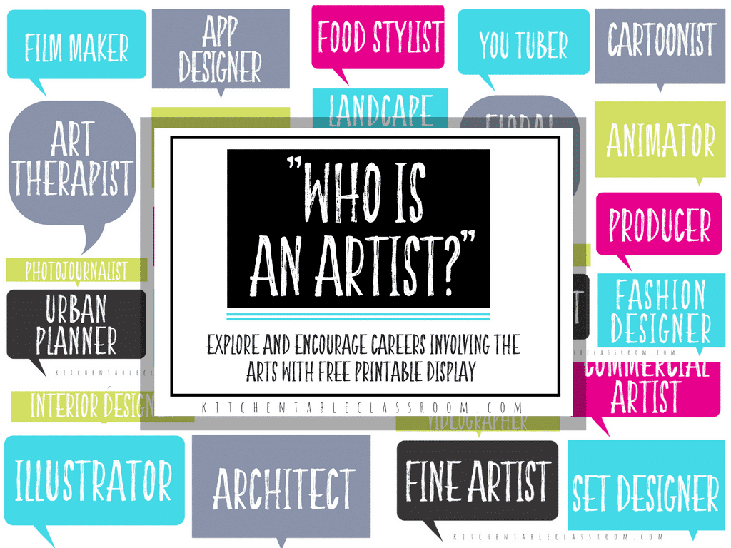 Looking At Jobs In The Arts Printable Resources