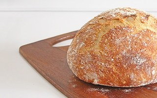 No Knead Bread  – Artisan Style that's crusty and rustic