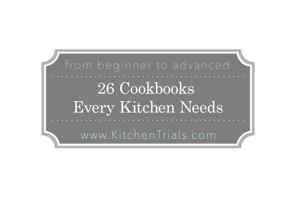 26 cookbooks