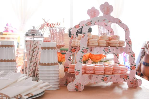 pink and brown treat table 2