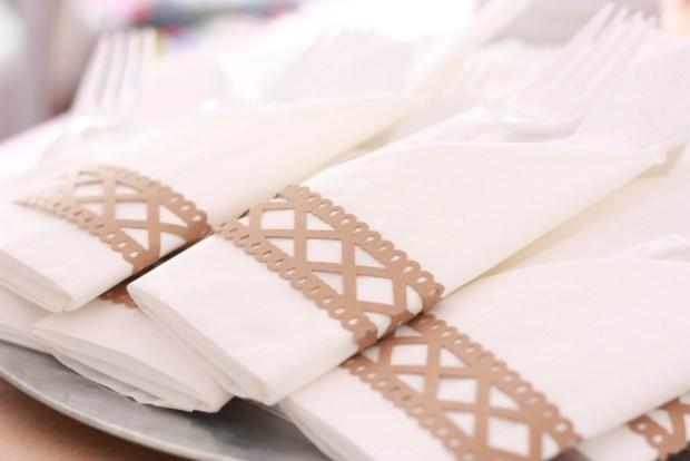 vintage party napkin holders